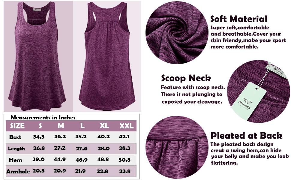 workout tank tops for women racerback tank tops for women yoga top for women plus size summer sleeve
