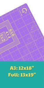 rotary cutting mat large