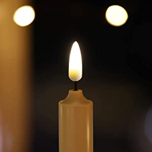 LED Flickering Flameless Taper Candles