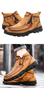 Leather shoes casual