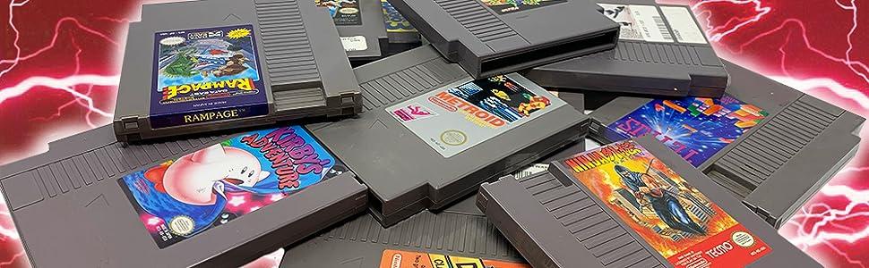 Old Skool Classiq N Compatible with NES Game Cartordges Retro video game console