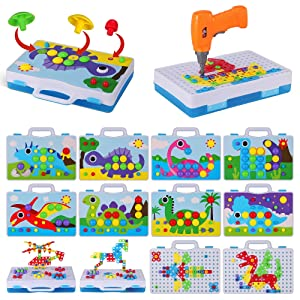 Pegboard Toys
