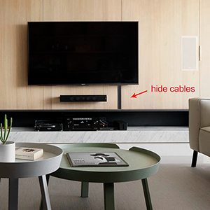 Hide tv cable
