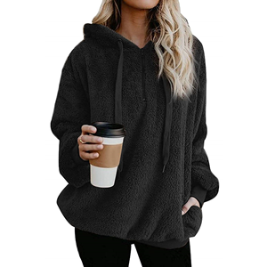 women's sherpa hoodie womens sherpa hoodie fluffy sweaters for women sherpa sweater women