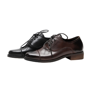 leather oxfords women