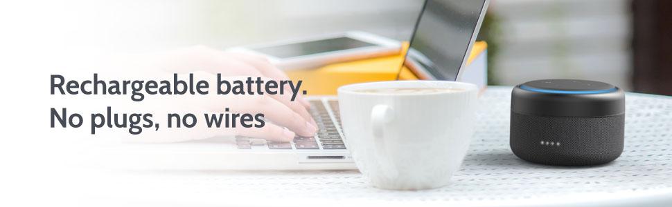i-box Battery Base for Amazon Echo Dot 3rd Generation