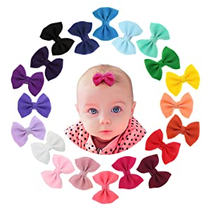 6Pcs//set Kids Infant Cute Hairpin Baby Girl Hair Clips Bow Flower Mini Barrettes