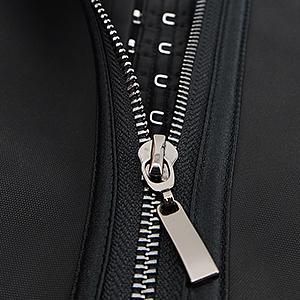 smooth upgraded metal zipper not easy to be broken
