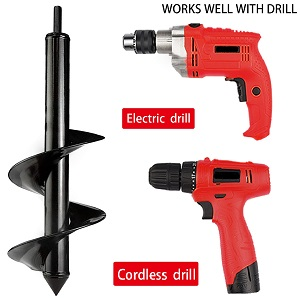 drill bit for planting