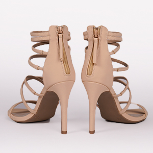 silver gold strappy nude white yellow royal blue black tan high heels fashion casual dress for women
