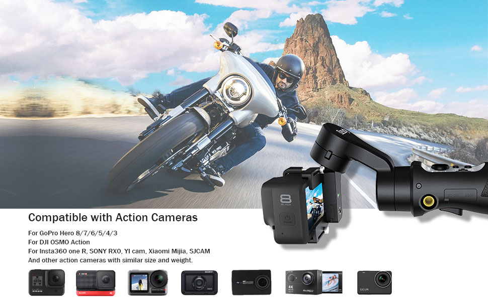 Great Compatibility of Action Camera