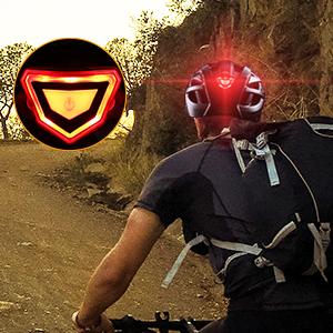rear light helmet