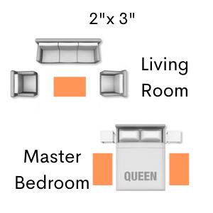 bedside rug