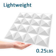 Flashandfocus.com 5e9dd58b-29b2-4568-9a80-a15e0cd205f1.__CR0,0,220,220_PT0_SX220_V1___ TroyStudio Acoustic Sound Diffuser Panel 12 X 12 X 1 Inches Pack of 4, Studio Diffuser Wall Decor