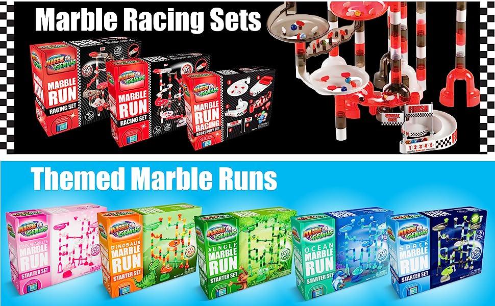 Racing & Themed Marble Runs