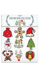 Christmas Glass Markers