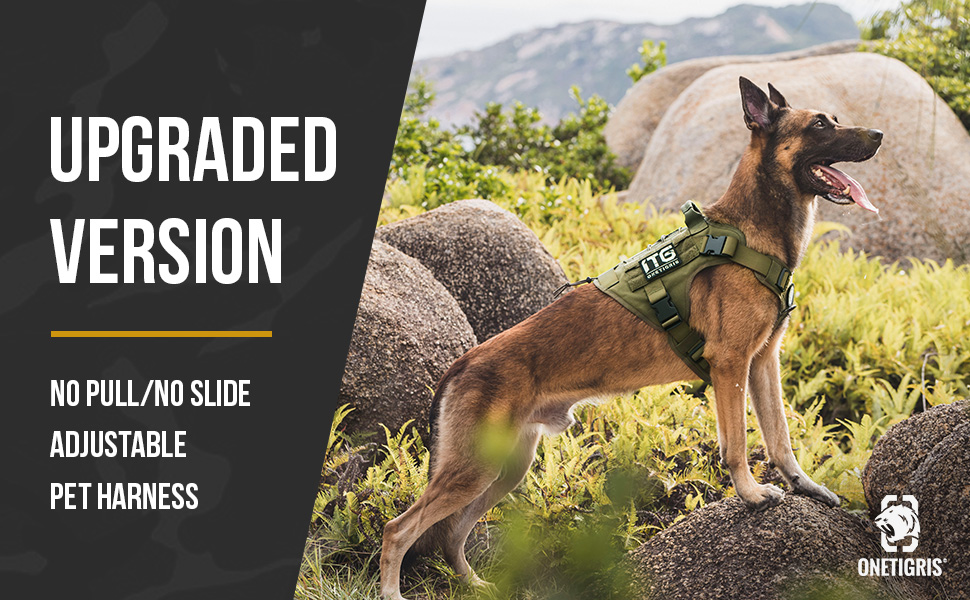 small dog harness tactical