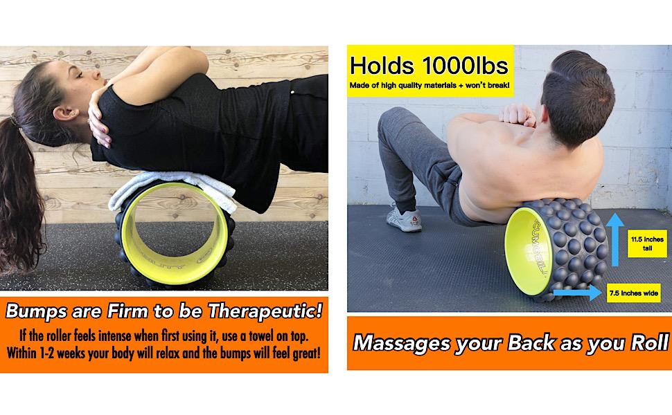 acumobility, accumobility, back roller, acumobility back roller, chirp, back wheel, foam roller