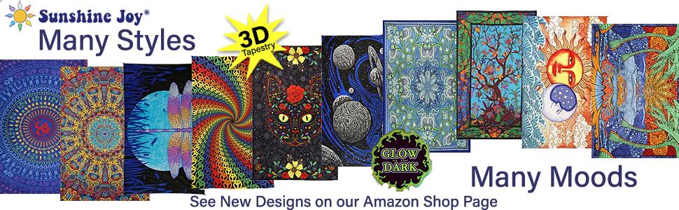 Sunshine Joy Style Tapestries