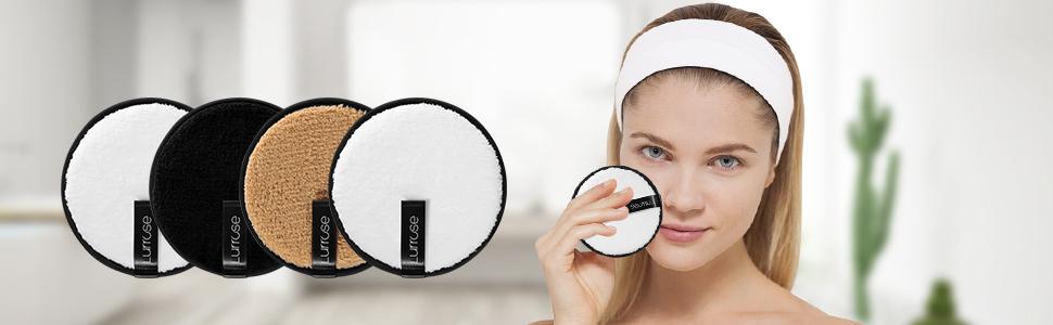 Lurrose Reusable Makeup Removal Pads 3