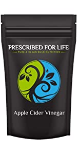 organic apple cider vinegar powder