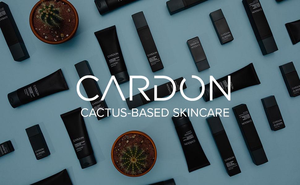cardon cactus based skincare for him korean male grooming face wash spf moisturizer shaving