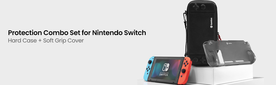 tomtoc protection combo set for nintendo switch