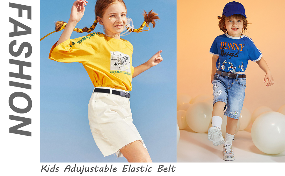 Kids Elastic Adjustable Belt