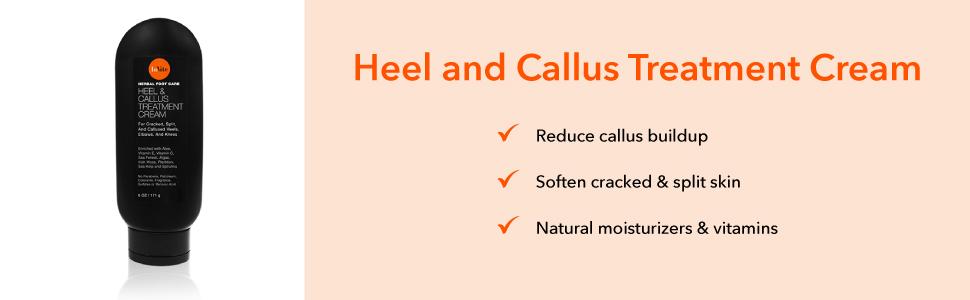 heel and callus treatment cream