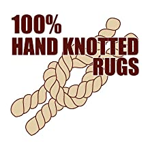 100% Hand Knotted Rugs