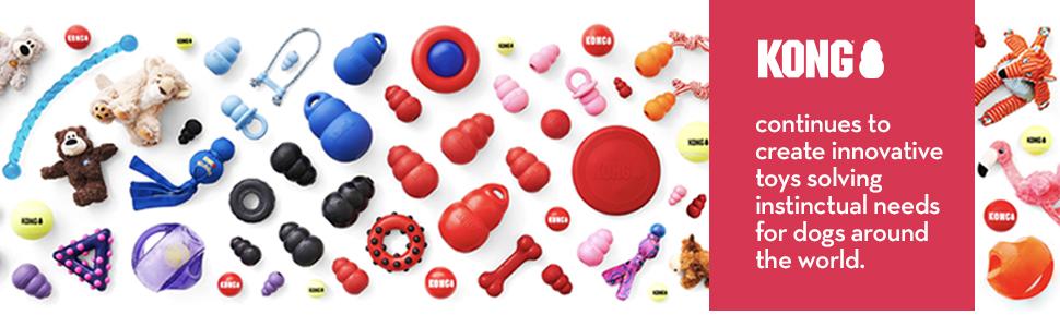 KONG toys, dog toys, chew toys