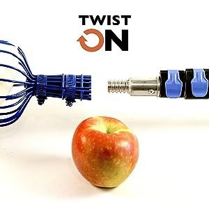 eversprout twist on fruit picker basket