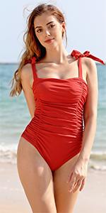 SHEKINI Bikini C/ôtel/é Maillot de Bain Femmes Deux Pi/èces Profond col en V R/églable Large Bandouli/ère Rembourr/é Triangle Bikini Femme 2 Pi/èces Taille Basse Bikini de Plage