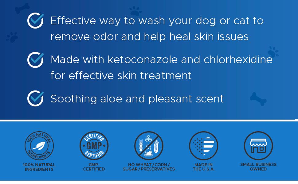 PetHonesty Chlorhexidine Shampoo