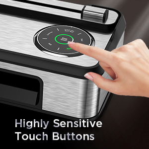 Soft Touch Button with LED Process Bar