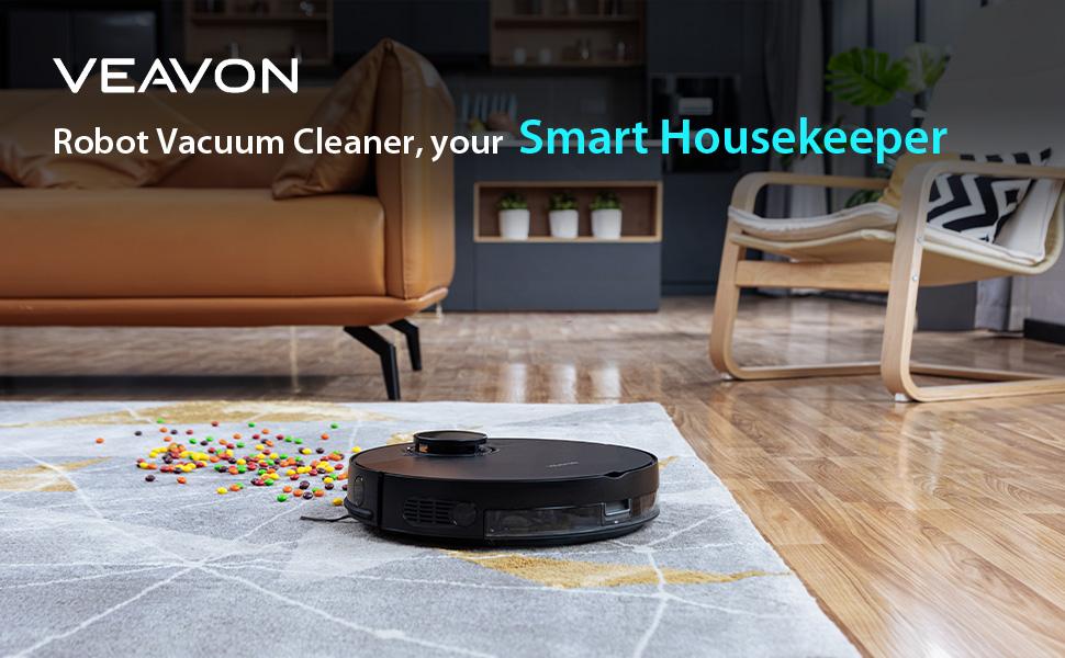 VEAVON Smart Robot Vacuum Cleaner