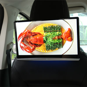 IPS touch screen, HD 4K playback