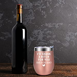Funny Christmas Wine Gifts Ideas for Mom