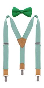 Kid's Suspenders amp; Bow Tie