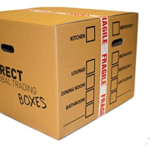 cardboard box tape moving packaging
