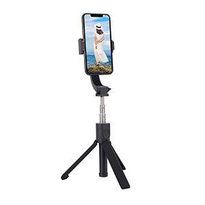 3 in 1 Design: Gimbal Selfie Stick mit Stativ