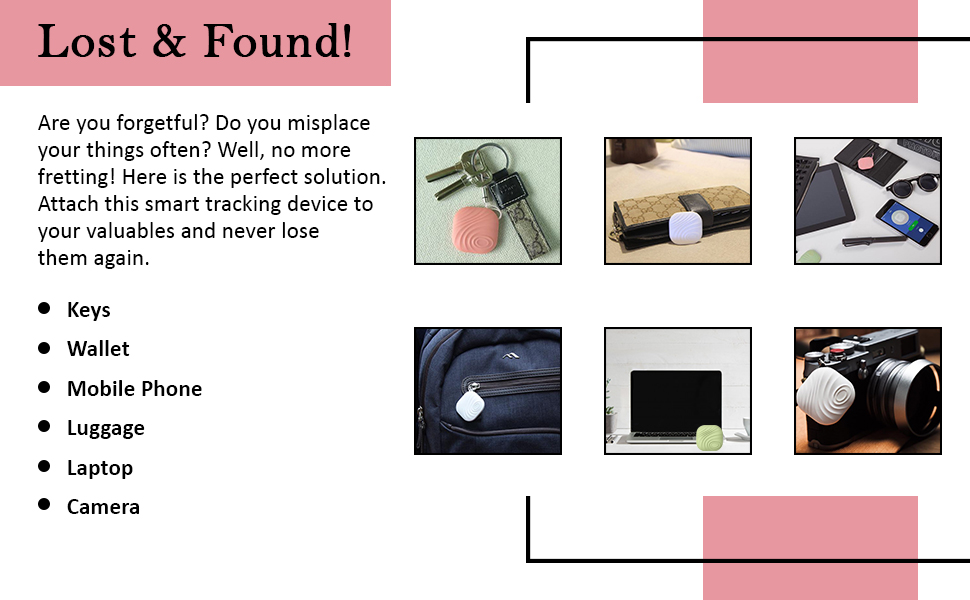 Bluetooth tracking device is easy to use