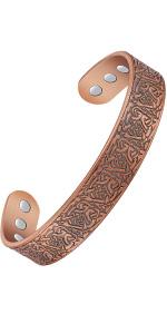 Viking Magnetic Copper Bracelet for Men
