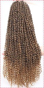Pre-twisted Passion Twist Hair T27#