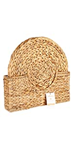 wonderfully handwoven plant-based mats – safe and gentle to furniture, to your family