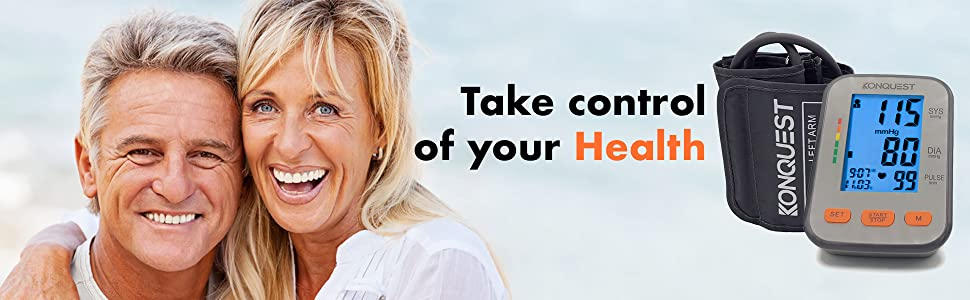 Take Control of your Health Blood Pressure Digital Accurate