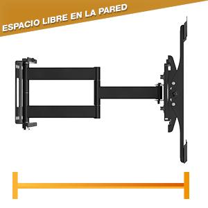 RICOO R33, Soporte TV Pared, Giratorio, Inclinable, Televisión 32-55