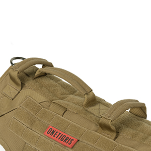 dog tactical vest with 3 handles