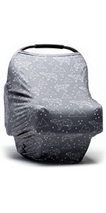 Arctic Bears Baby Car Seat Cover