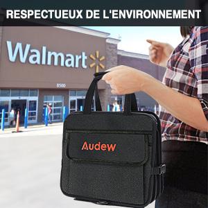 t/él/éphone documents filet de rangement pour sac /à main objets de valeur dans la voiture avec compartiments WLPTION Organiseur de voiture